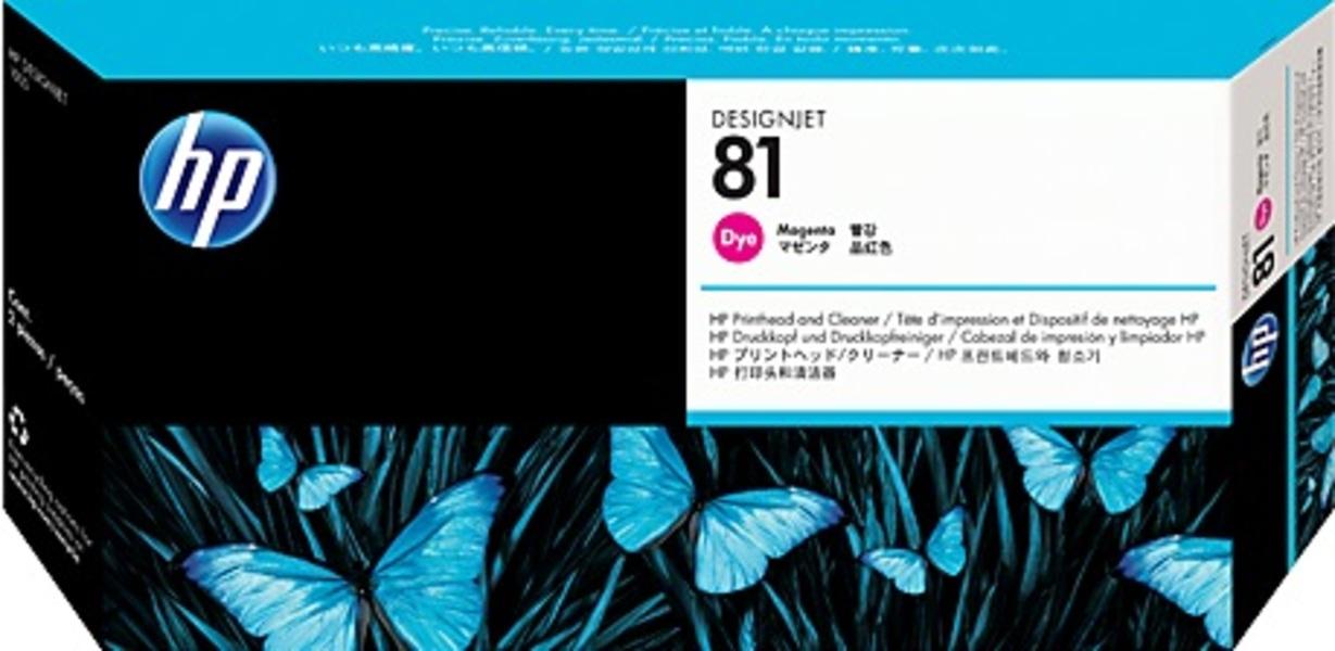 HP Printhead 81, magenta C4952A