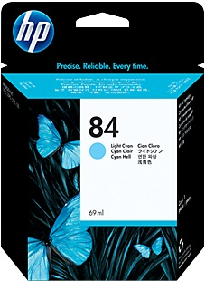 HP HP Ink Cartr., 84, light cyan C5017A