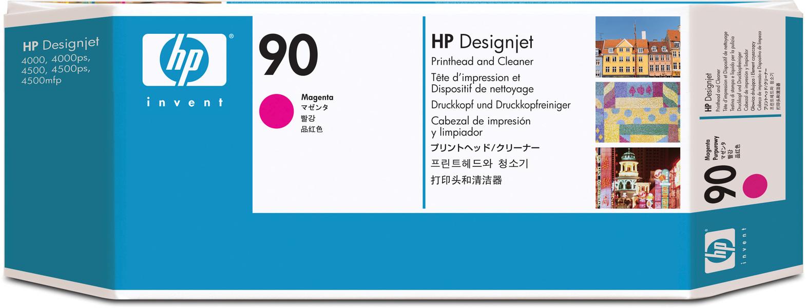 HP Printhead 90, magenta C5056A