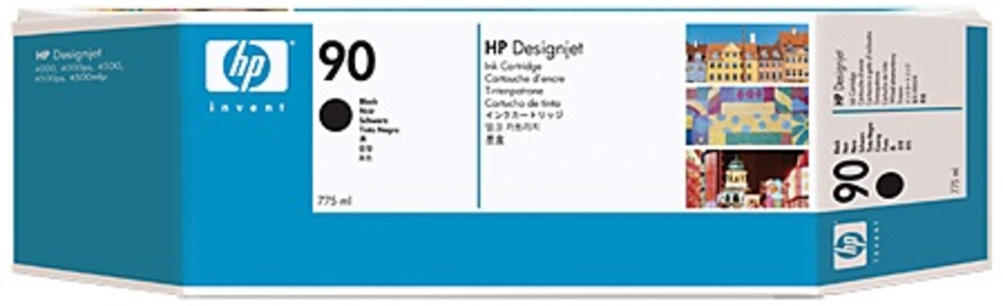 HP HP Ink Cartridge, 90, black C5059A