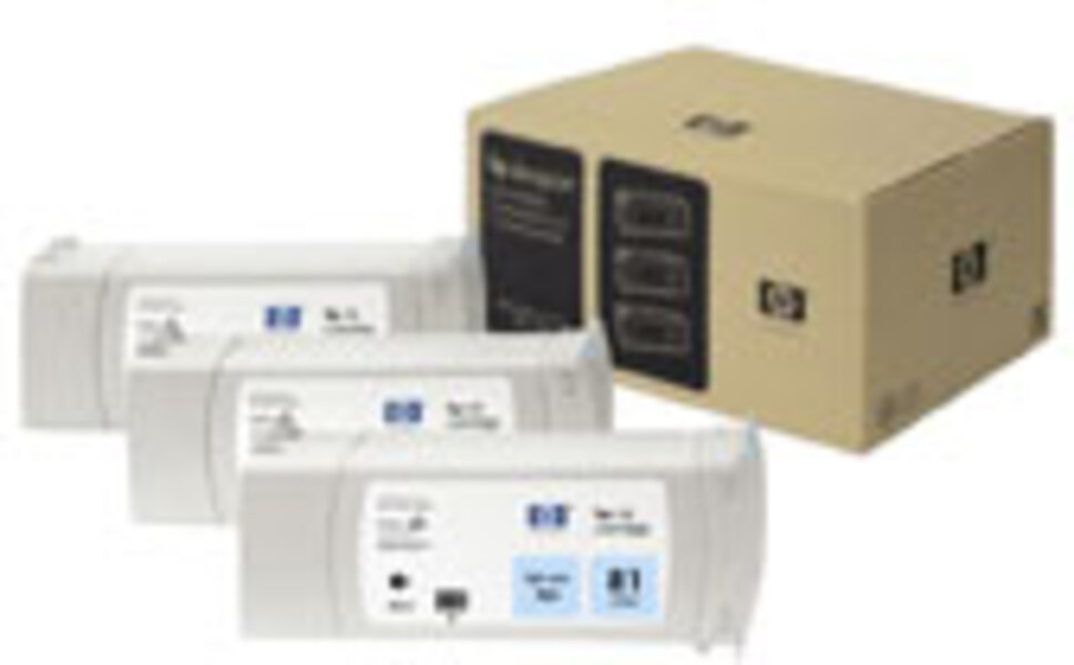 HP Multipack 81 light cyan C5070A