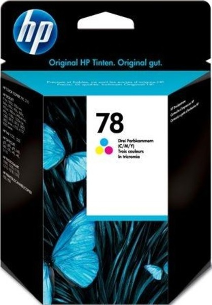 HP Ink Cartridge, 78, tricolor C6578DE
