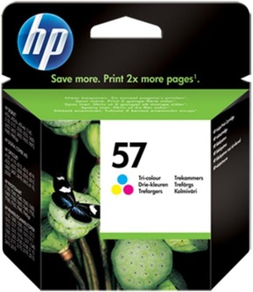 HP Ink Cartridge, 57, tricolor C6657AE