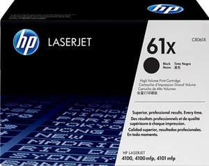 HP Toner, 61X, black C8061X