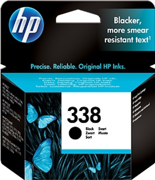 HP Ink Cartridge, 338, black C8765EE