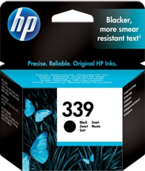 HP Ink Cartridge, 339, black C8767EE