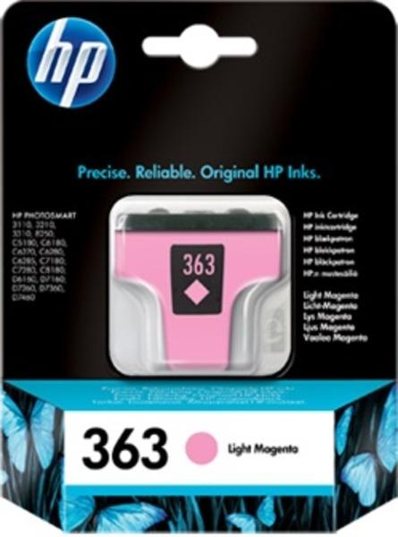 HP HP Ink Cartridge, 363, light m C8775EE