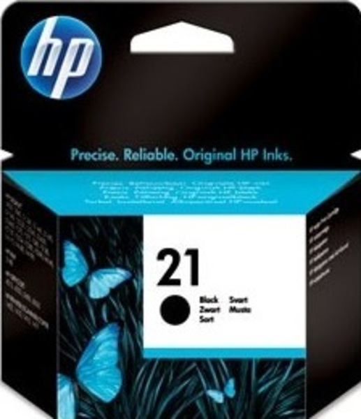 HP Ink Cartridge, 21, black C9351AE