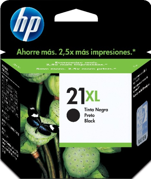 HP Tintenpatrone 21XL schwarz C9351CE