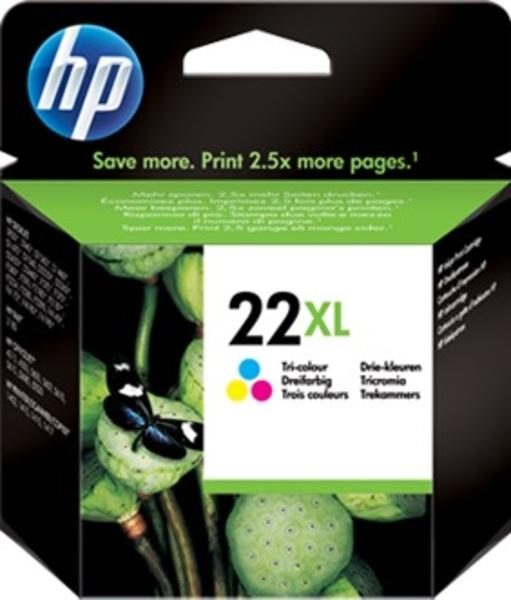 HP Tintenpatrone 22XL color C9352CE