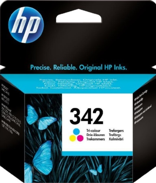 HP Ink Cartridge, 342, tricolo C9361EE
