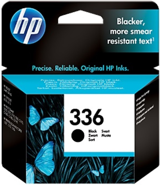 HP Ink Cartridge, 336, black C9362EE