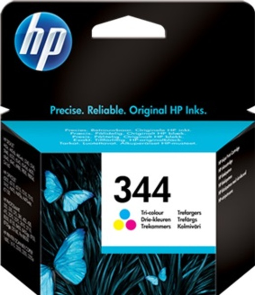 HP Ink Cartridge, 344, tricolo C9363EE
