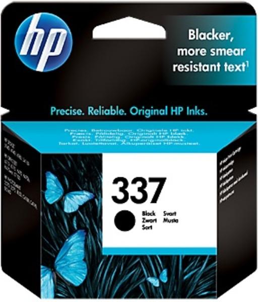 HP Ink Cartridge, 337, black C9364EE