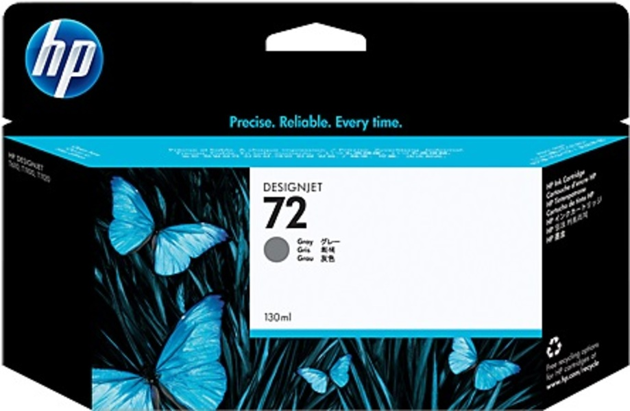 HP Ink Cartridge, 72, grey C9374A