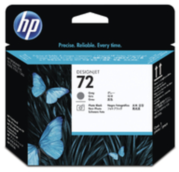 HP Druckkopf Nr.72 - Grey+P.Black (C9380A) C9380A