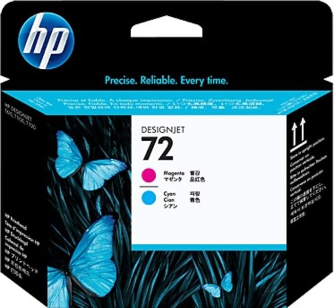 HP Nr. 72 Druckkopf magenta/cyan C9383A