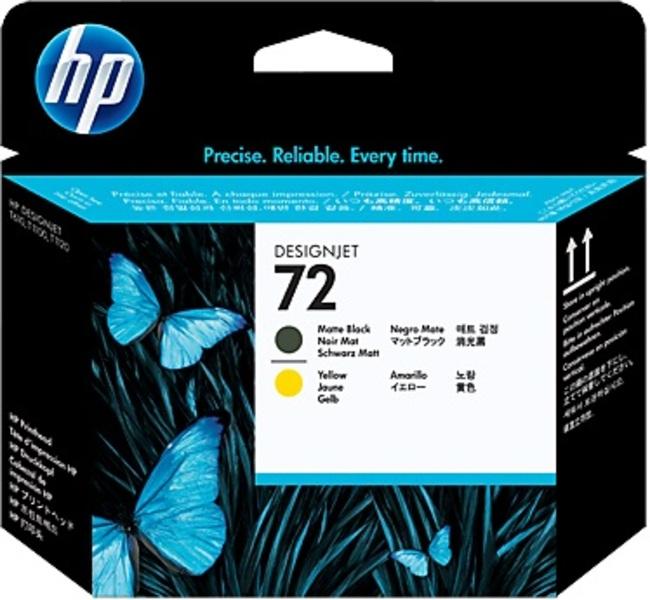 HP Druckkopf Nr.72 - MBlack+Yellow (C9384A) C9384A