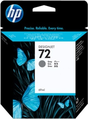 HP Ink Cartridge, 72, grey C9401A