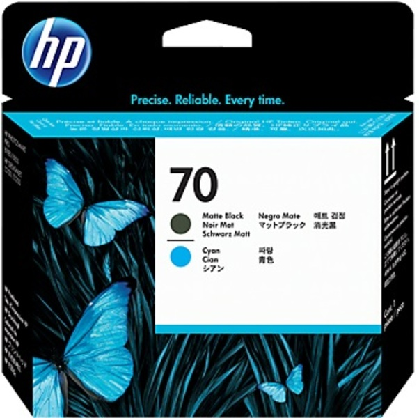HP HP Printhead 70, black matt+ C9404A