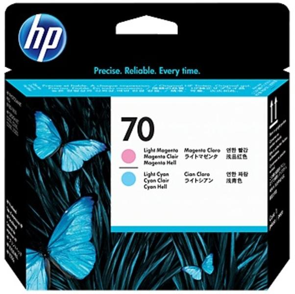 HP Printhead 70, li.cyan+mag. C9405A