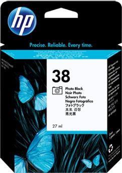 HP HP Ink Cartridge, 38, black ph C9413A