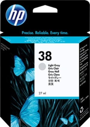 HP Ink Cartridge, 38, light gr C9414A
