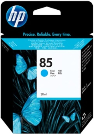 HP HP Ink Cartridge, 85, cyan C9425A