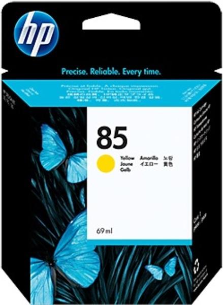 HP Ink Cartridge, 85, yellow C9427A