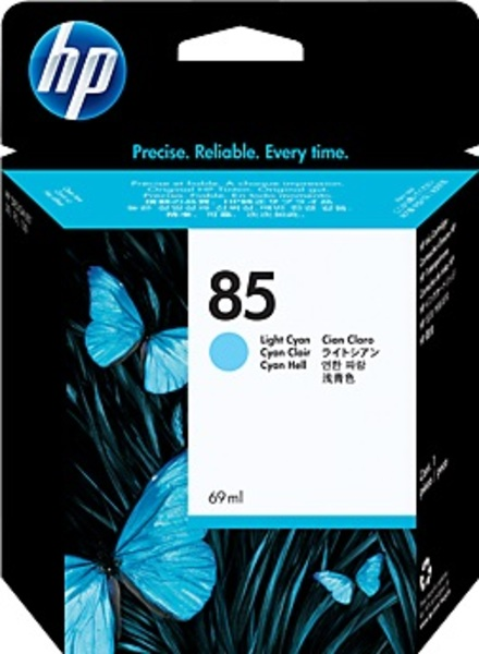 HP Ink Cartr., 85, light cyan C9428A