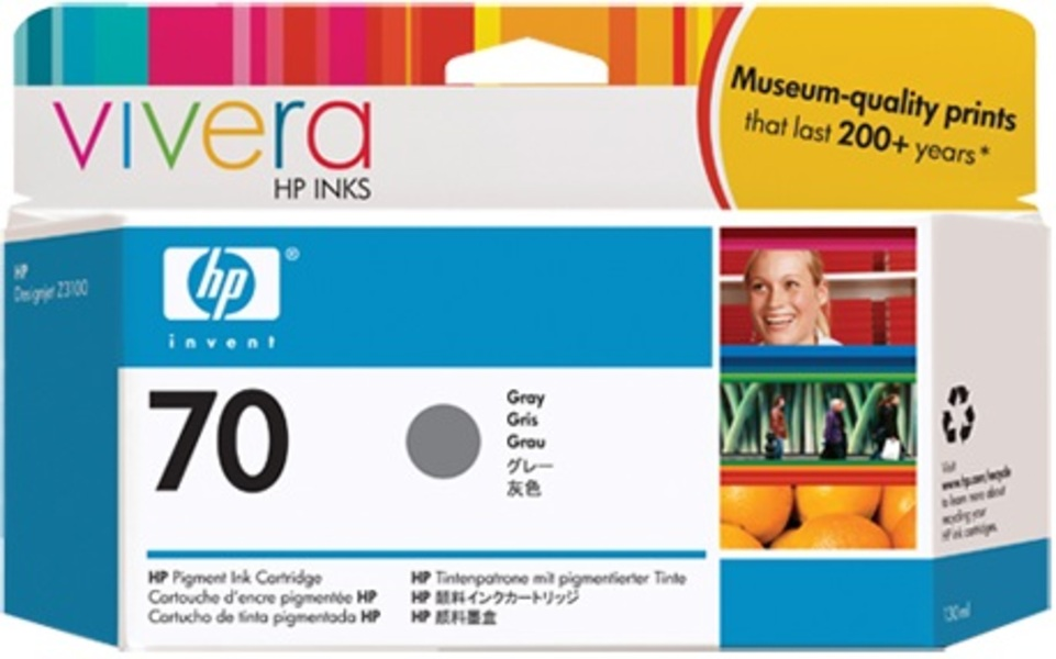 HP Ink Cartridge, 70, grey C9450A