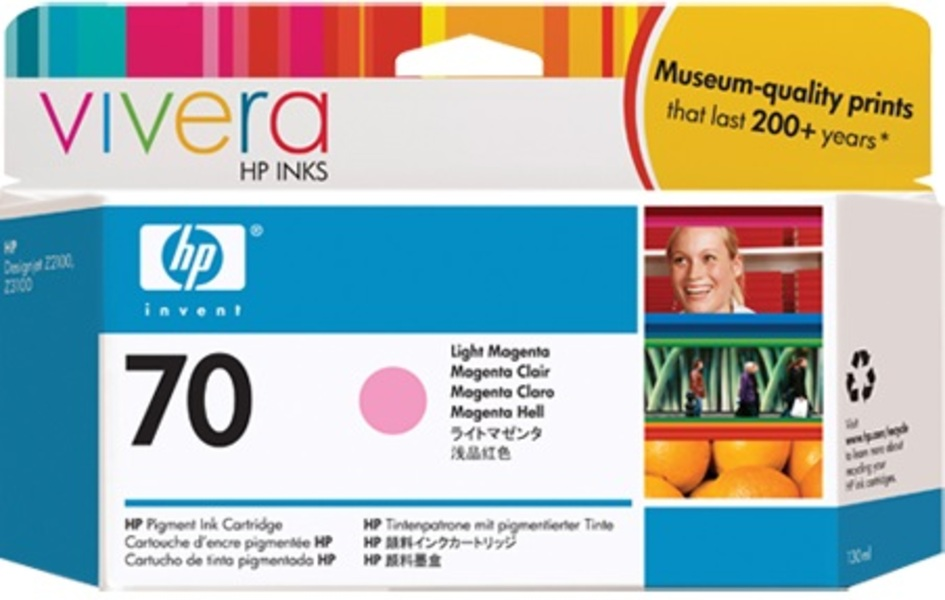 HP Ink Cartr. 70,light magenta C9455A