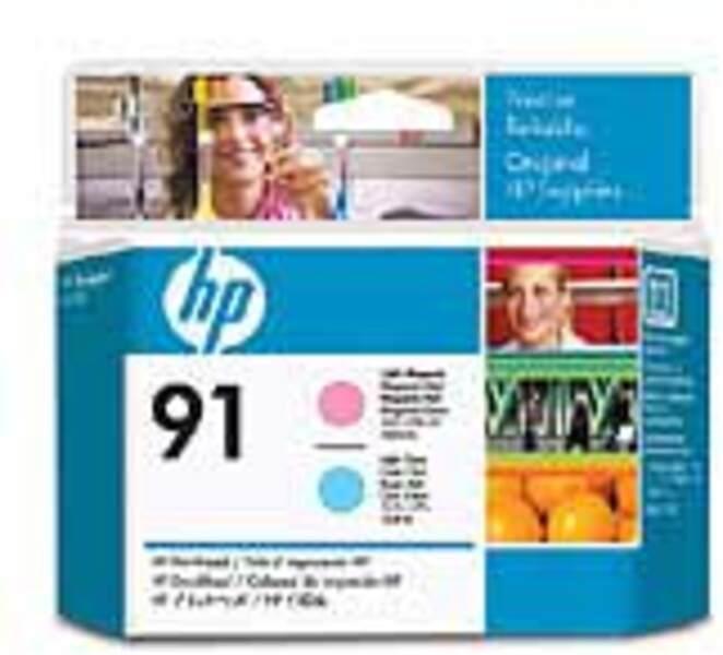 HP 91 Light Magenta&Light Cyan Printhead C9462A
