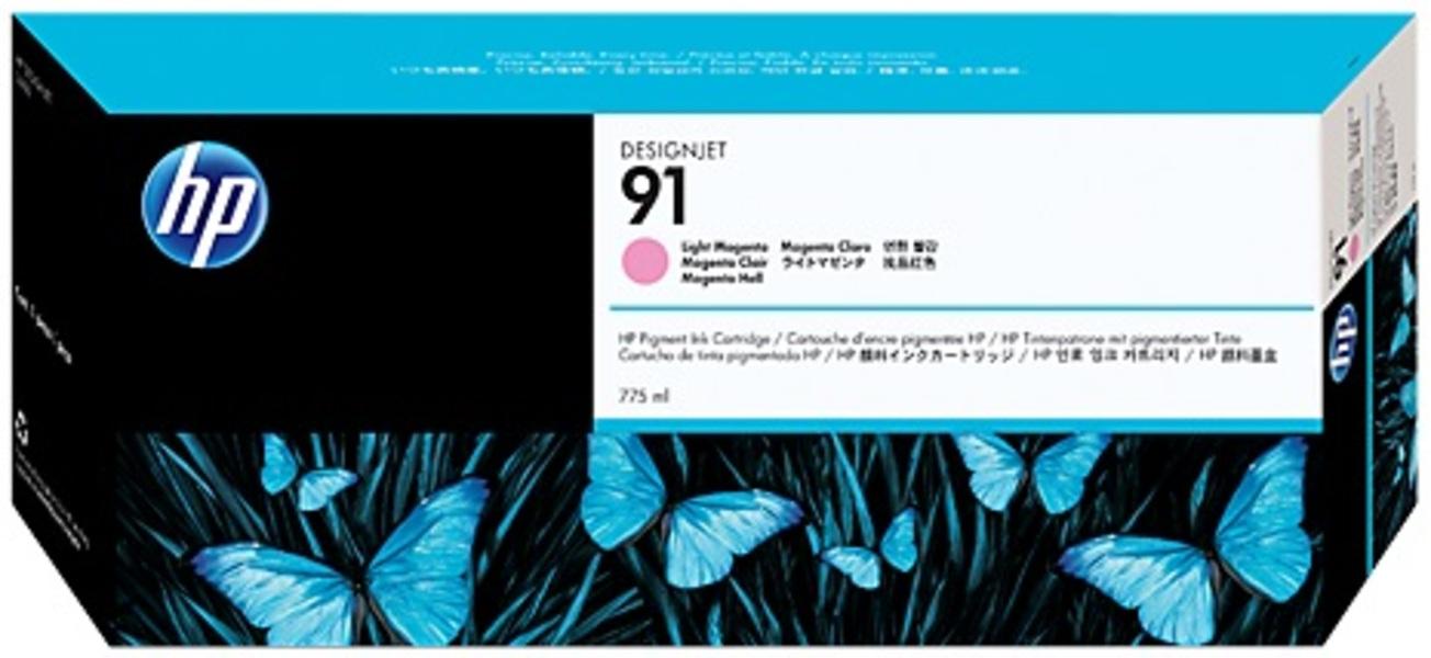 HP Ink Cartr.,91,light magenta C9471A