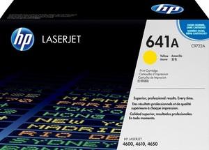 HP Toner, 641A, yellow C9722A