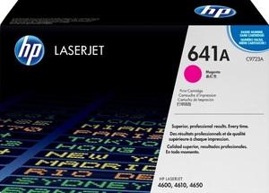 HP Toner, 641A, magenta C9723A