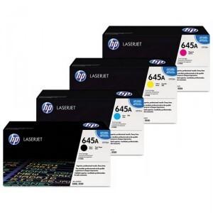 HP HP Toner-Set bestehend aus je 1x C9730A, C9731A, C9732A, C9733A = 4x 645A C9730ASet