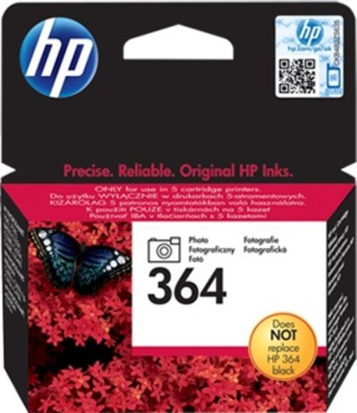 HP Tintenpatrone 364 ph.schwarz CB317EE