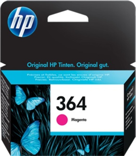 HP Tintenpatrone 364 magenta CB319EE