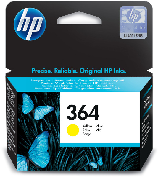 HP Tintenpatrone 364 yellow CB320EE