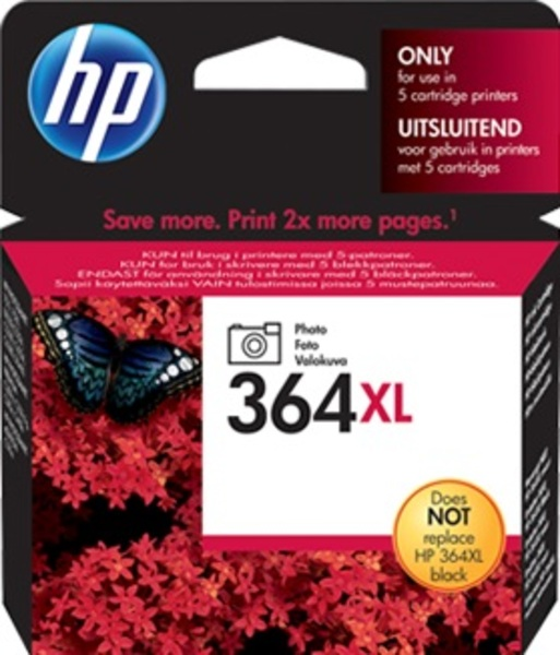 HP Tintenpatrone 364XL ph.schwarz CB322EE