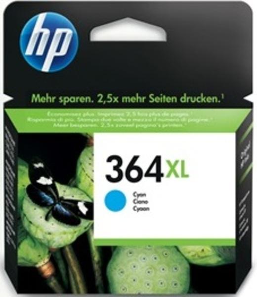 HP Tintenpatrone 364XL cyan CB323EE