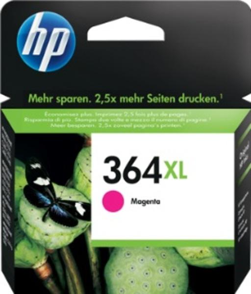HP Tintenpatrone 364XL magenta CB324EE