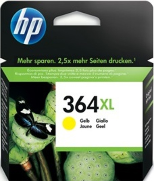 HP 364XL Yellow Ink Cart/Vivera Ink CB325EE