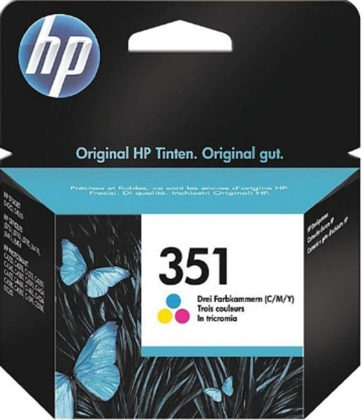 HP HP Ink Cartridge, 351, tricolo CB337EE