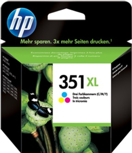 HP Ink Cartr., 351XL, tricolor CB338EE