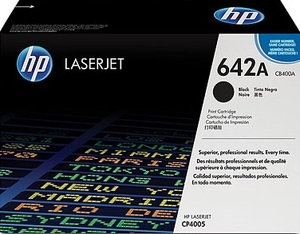 HP Toner, 642A, black CB400A