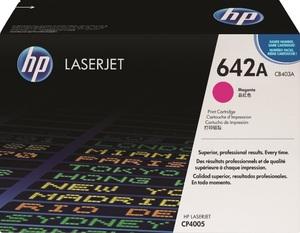 HP Toner, 642A, magenta CB403A