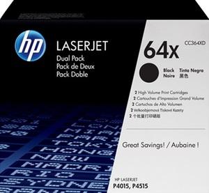HP Toner/black CC364XD dual CC364XD
