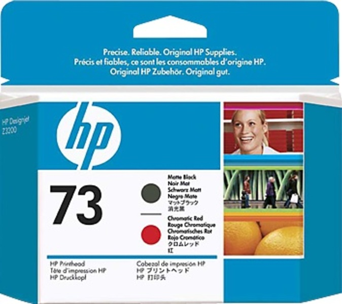 HP Druckkopf 73 matte black/red CD949A